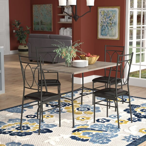 Malina 5 Piece Dining Set by Red Barrel Studio