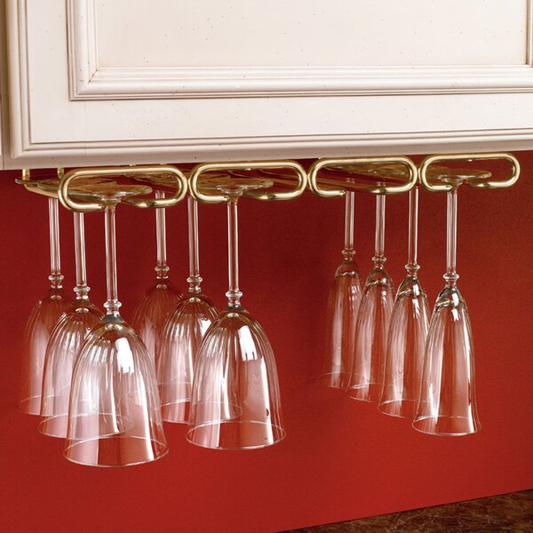 Wall Mounted Wine Glass Rack by Rev-A-Shelf