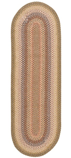 Dray Hand-Woven Beige/Brown Area Rug by August Grove