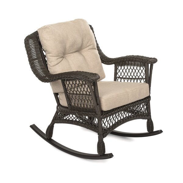 Runyan Garden Rocking Patio Chair with Cushions by August Grove