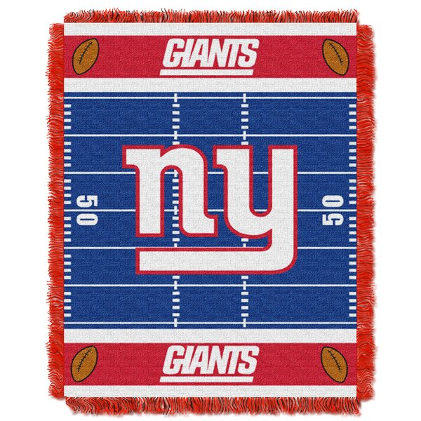 NFL NY Giants Field Baby Blanket by Northwest Co.