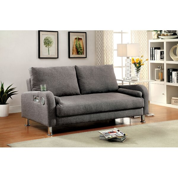 Baynard Cushion Back Convertible Sofa By Latitude Run