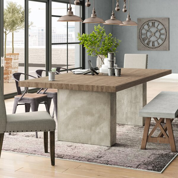 Rosa Oak Dining Table by Modern Rustic Interiors