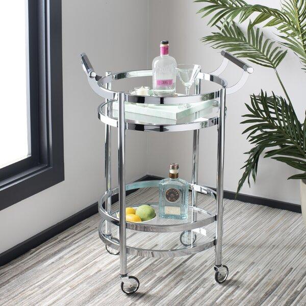 Hendrum Bar Cart by Wrought Studio