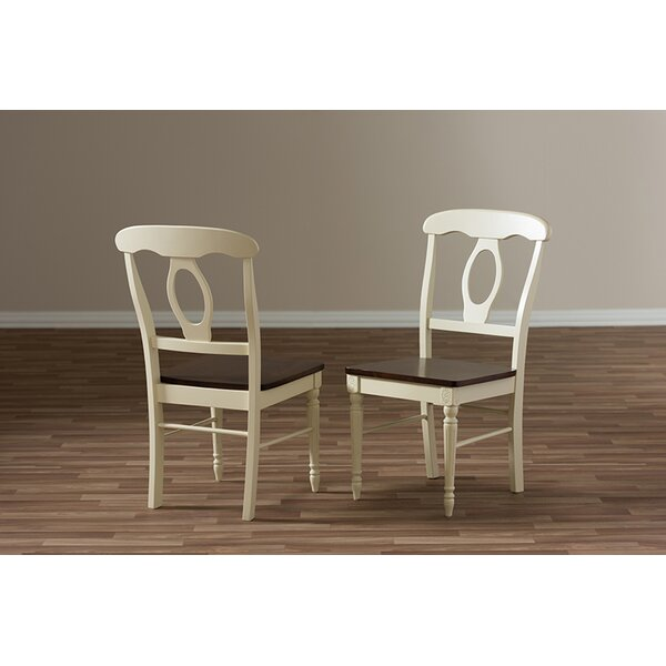 Farallones French Solid Wood Dining Chair (Set Of 2) By Alcott Hill