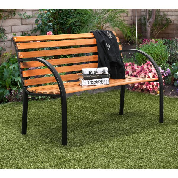 Refined Simplicity Garden Park Bench by Hokku Designs