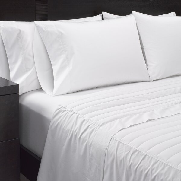 370 Thread Count Cambric Cotton Sheet Set by Sharper Image