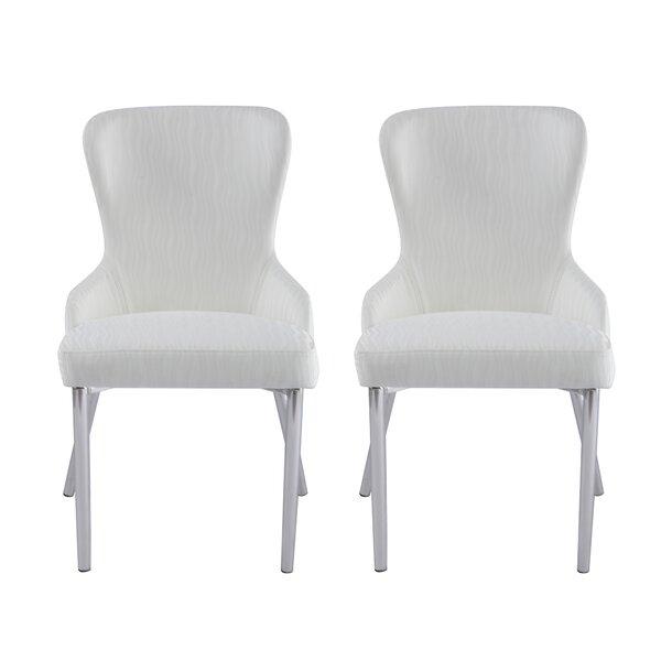 Wilder Upholstered Dining Chair (Set of 2) by Orren Ellis