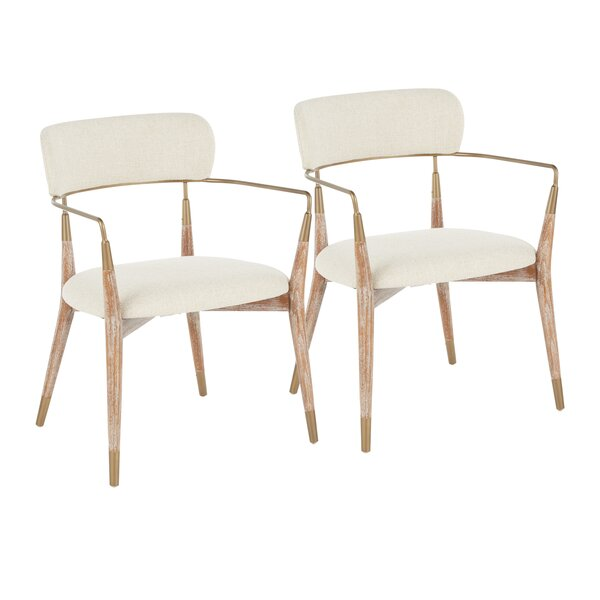Bowenville Upholstered Dining Chair (Set Of 2) By Wrought Studio