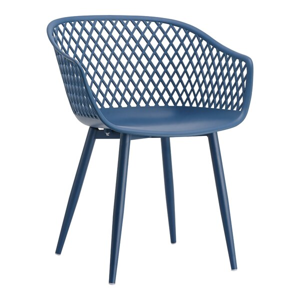 Indiana Patio Dining Chair (Set of 2) by Wrought Studio