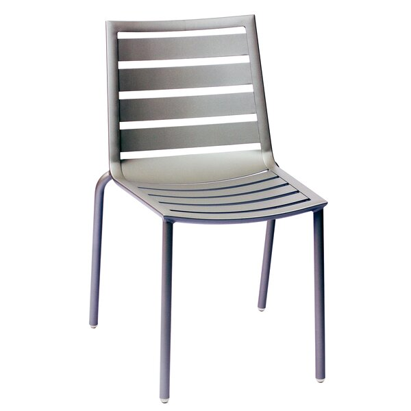 Anton Stacking Patio Dining Chair by Wade Logan