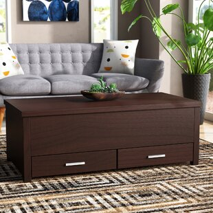 Affordable Tackett Coffee Table with Storage By Wrought Studio