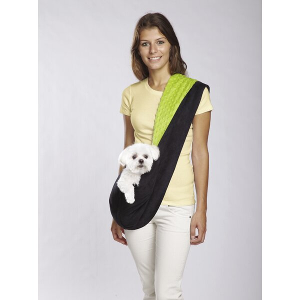 Reversible Sling Dog Carrier by East Side Collection
