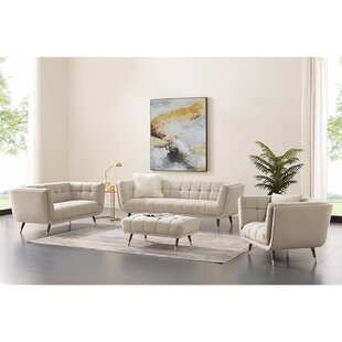 Callihan 4 Piece Standard Living Room Set by Corrigan Studio®