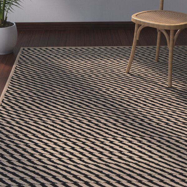 Mammari Black/brown Indoor/Outdoor Area Rug by Bay Isle Home