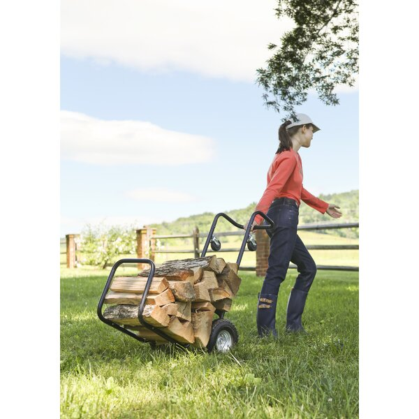 Steel Log Carrier by Plow & Hearth