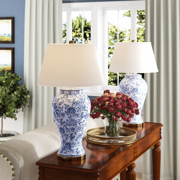 Spring Blossom 29 Table Lamp (Set of 2) by Alcott Hill
