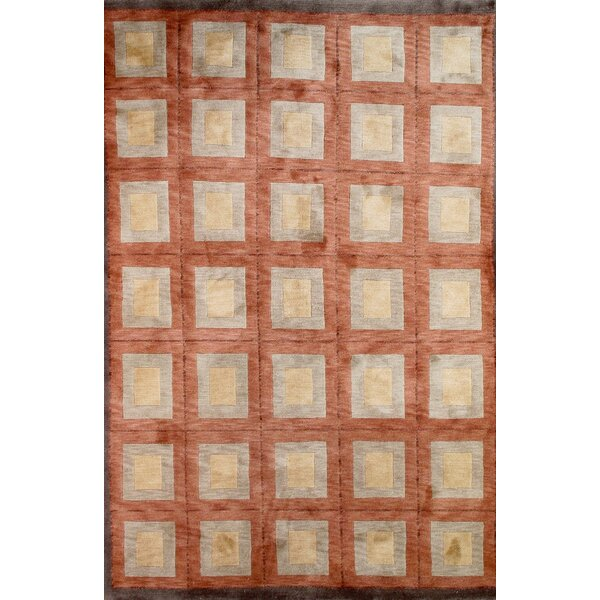 Tibetan Hand-Knotted Brown/Gray Area Rug by Pasargad