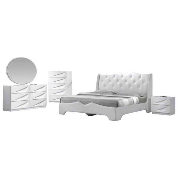 Kogan Platform 5 Piece Bedroom Set by Orren Ellis