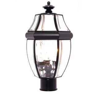 Comparison Lavergne Creek Outdoor 3-Light Lantern Head By Three Posts