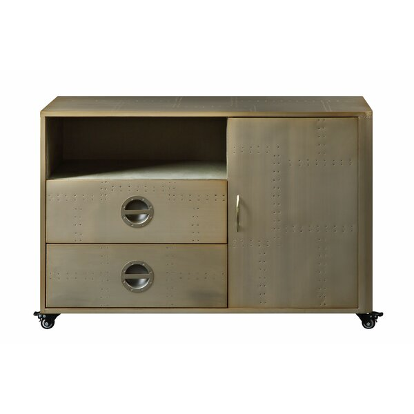 Malaki 2 Drawer Accent Cabinet by 17 Stories