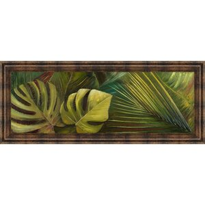Green for Ever I by Patricia Pinto Framed Painting Print by Classy Art Wholesalers