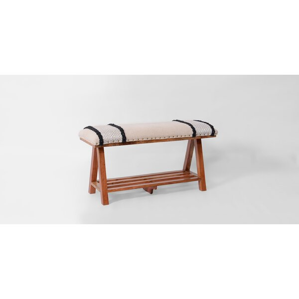 Vale Upholstered Storage Bench by Loon Peak