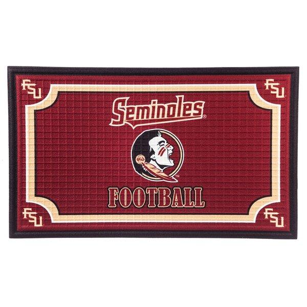 NCAA Embossed Doormat by Evergreen Enterprises, Inc