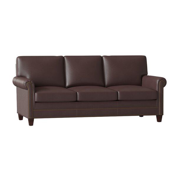 Best Price Raylen Leather Sofa by Bradington-Young by Bradington-Young