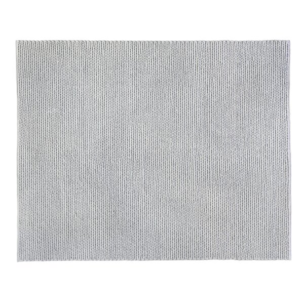 Arlow Hand-Woven Gray Area Rug by Exquisite Rugs