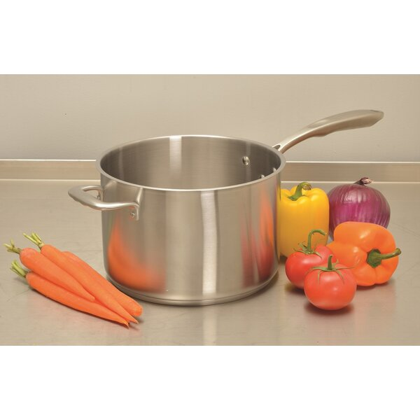 Stainless Steel Sauce Pan with Lid by Update International