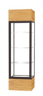 Keepsake Series Floor Display Case with Lighted Co