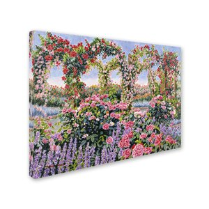 'Symphony of Roses' Print on Wrapped Canvas by Trademark Fine Art