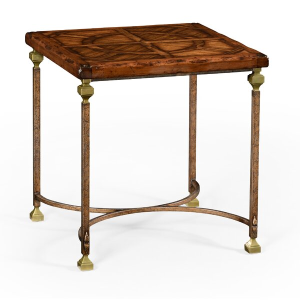 Anvil End Table by Jonathan Charles Fine Furniture Jonathan Charles Fine Furniture