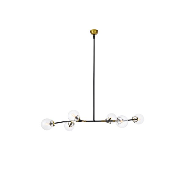 Roman 6-Light Sputnik Chandelier by Corrigan Studi