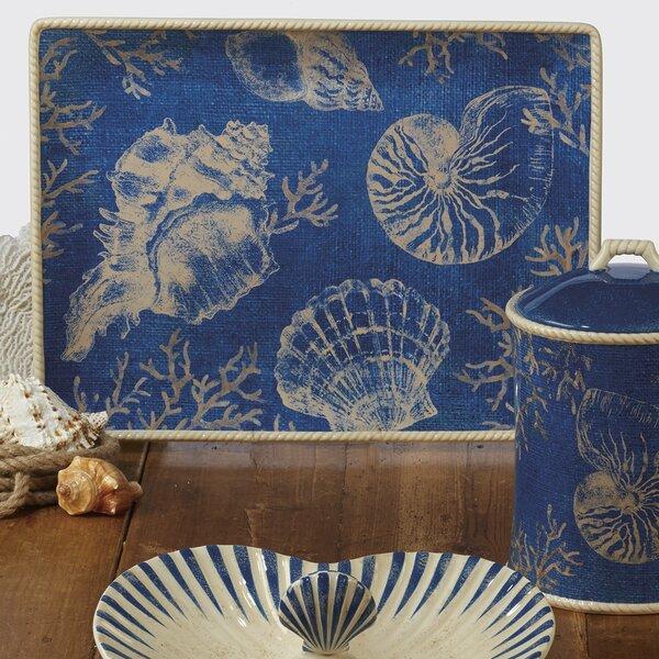 Herzig Seaside Rectangular Platter by Highland Dunes