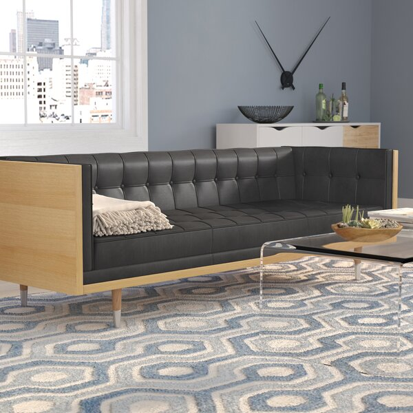 Lancaster Leather Sofa by Comm Office