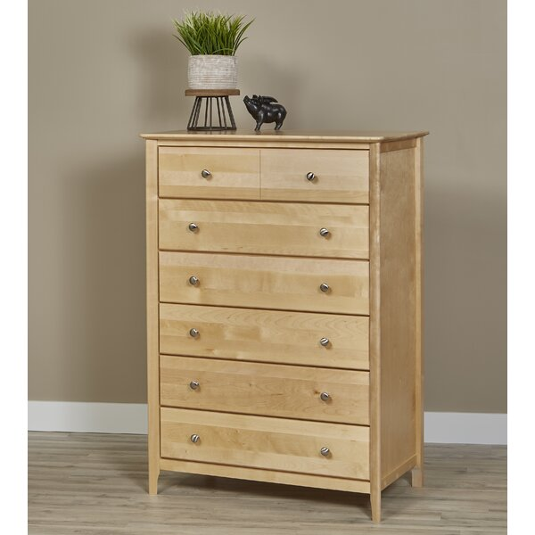 Dellbrook 6 Drawer Chest by Alcott Hill