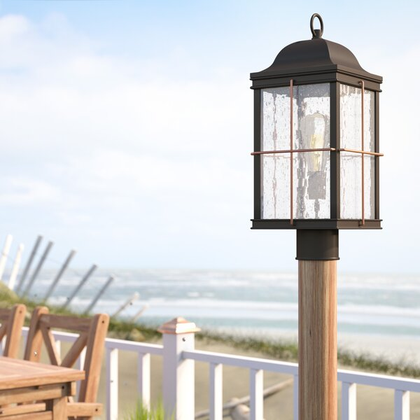 Craig 1-Light Lantern Head by Beachcrest Home