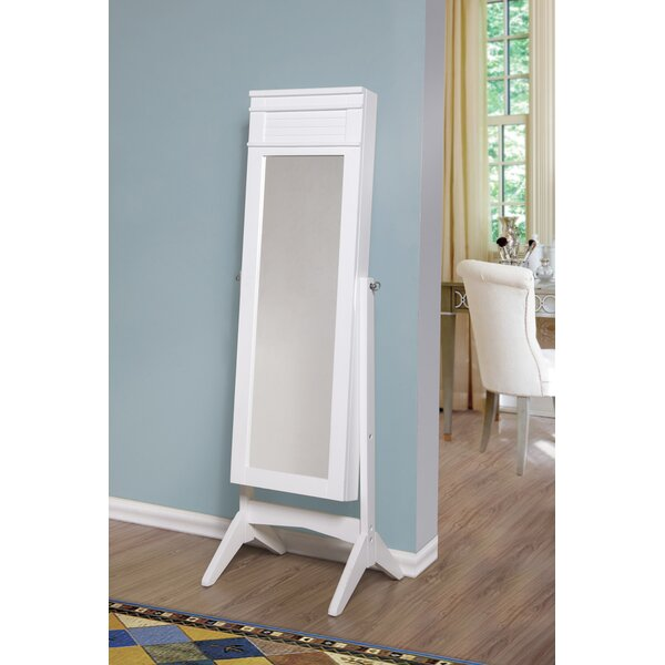 Ashley Jewelry Armoire with Mirror by Best Desu, Inc.