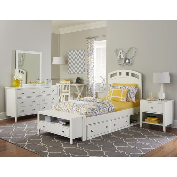 Granville Twin Arch Bed with Storage by Viv + Rae