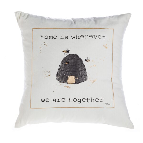 Lil Memos Cotton Throw Pillow by August Grove