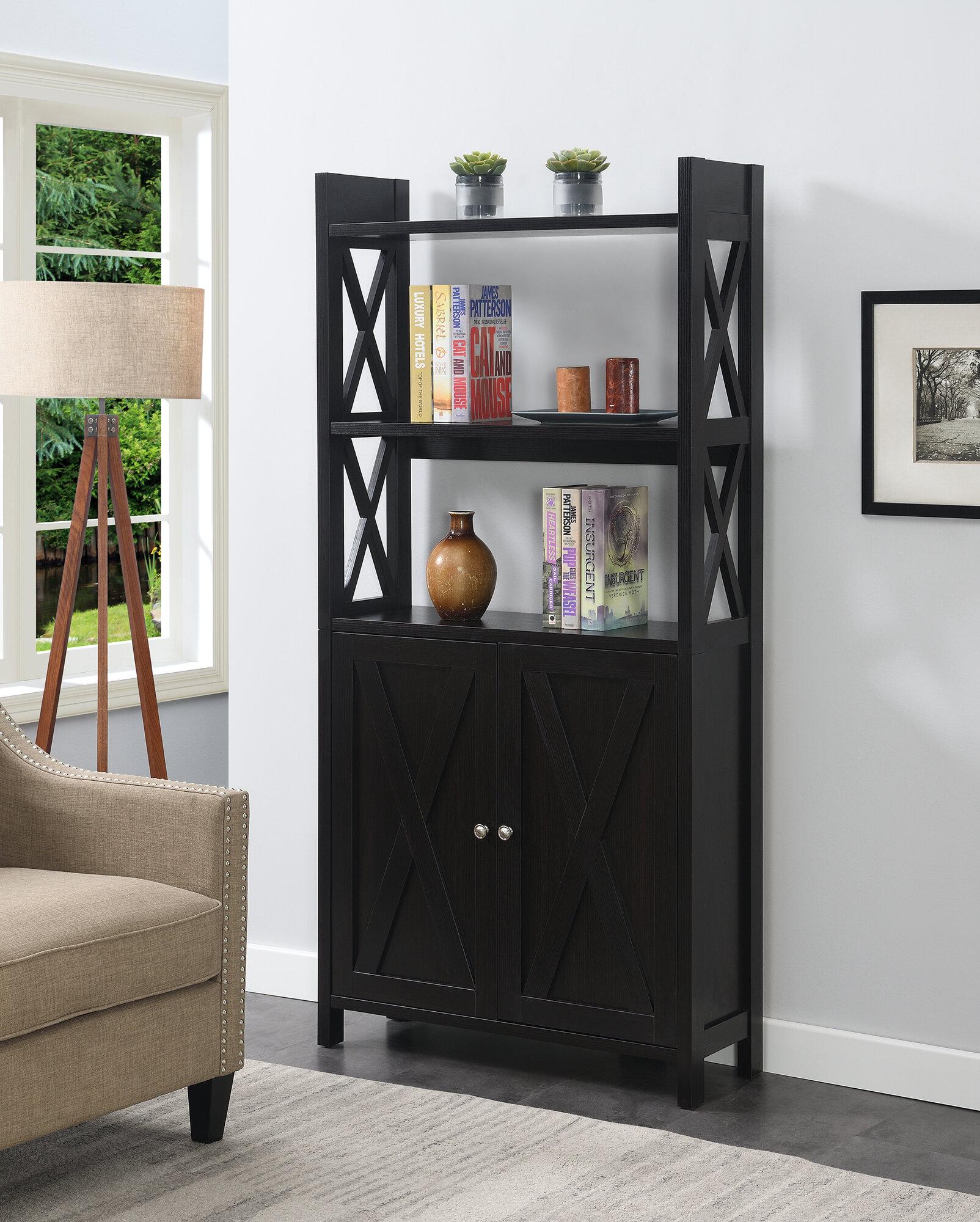 Red Barrel Studio Allicen 69 H X 33 75 W Standard Bookcase Wayfair