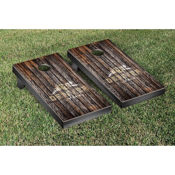 University of Colorado-Denver Lynx Banner Weathered Version Cornhole Game Set by Victory Tailgate