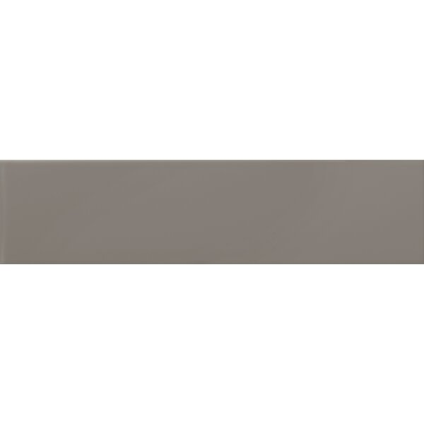 Choice 4 x 10 Ceramic Subway Tile in Glossy Taupe by Emser Tile
