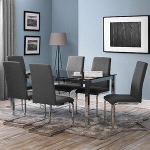Essgruppe Tempo mit 6 Stühlen von All Home