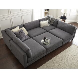 Ordinaire Chelsea Reversible Sleeper Sectional With Ottoman