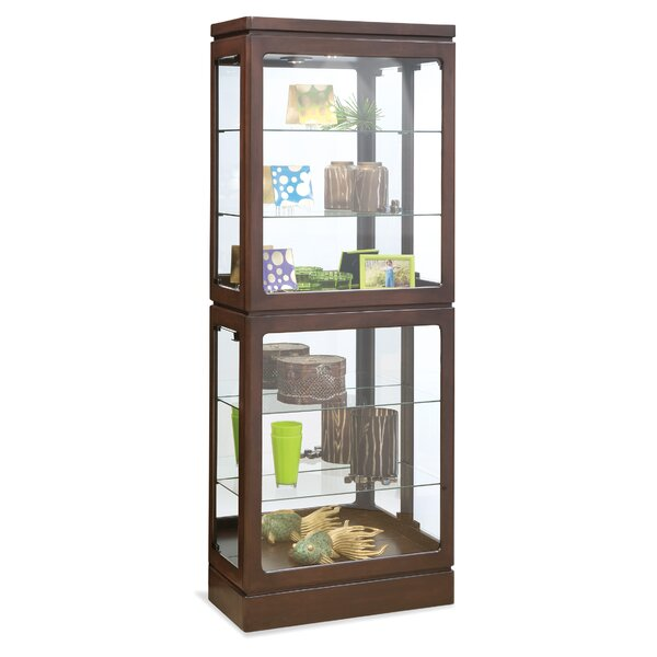 Breckenridge I Lighted Curio Cabinet by Philip Reinisch Co.