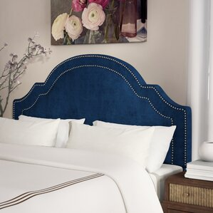Konnor Velvet Upholstered Panel Headboard by Willa Arlo Interiors