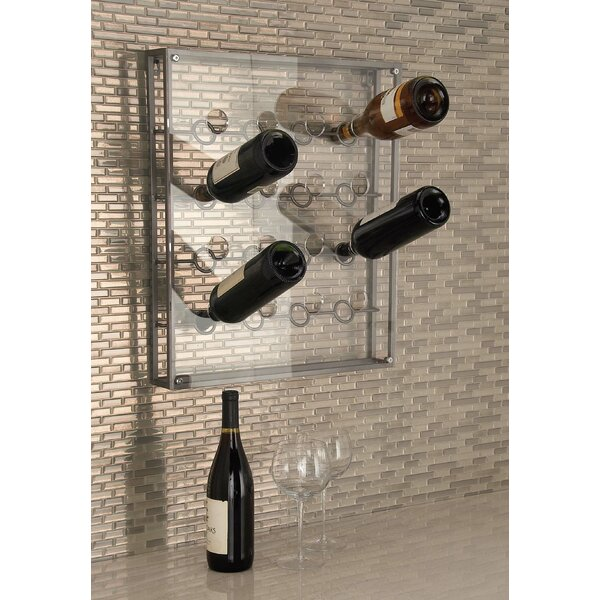 16 Bottle Wall Mounted Wine Bottle Rack by Cole & Grey